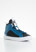 Converse - Chuck taylor all star ultra mid - cape blue/black/white