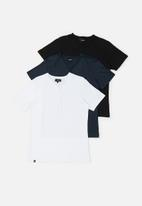 Superbalist - 3-Pack florida henley tee - multi