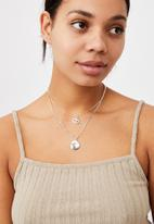 Rubi - Luxe layers multi necklace - silver