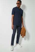 Superbalist - 2-Pack siya slim pique mandarin golfer - multi