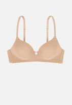 DORINA - Light padded soft bra - beige