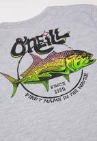 O'Neill - Party fish short sleeve tee - grey