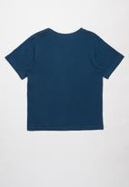 Fox - Freedom shiels short sleeve tee - navy
