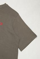 Fox - Dual head boys short sleeve tee - lucid grey