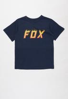 Fox - Moth in flames boys short sleeve tee - navy