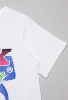 Fox - Qualifier boys short sleeve tee - white