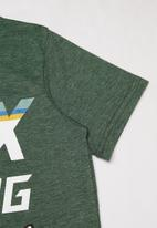 Fox - Full count boys short sleeve tee - green