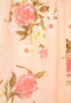edit - Chiffon gypsy midi floral - multi