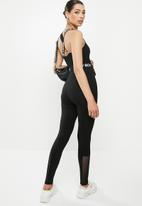 Sissy Boy - Athleisure: all in one leotard - black