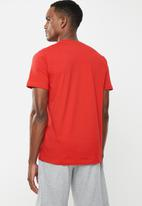 adidas Originals - Trefoil short sleeve tee - red