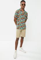 Holmes Bro's - Sunbleached button up shirt - multi