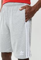 adidas Originals - 3-Stripe shorts - grey