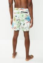 Holmes Bro's - Free & easy swimshort - white