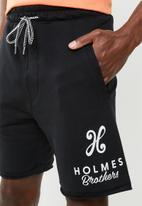 Holmes Bro's - Holmes label short - black