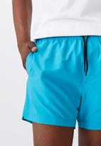 Factorie - Resort short - blue lagoon