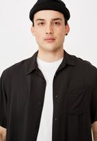Factorie - Resort shirt - black