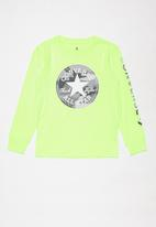 Converse - Camo chuck patch tee - green