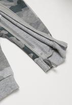 Converse - Converse boys hooded camo coverall - grey