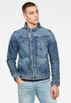 G-Star RAW - Scutar nw slim fit jacket - faded regal blue