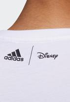 adidas Performance - Disney all over print tee - white & black