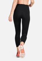 Under Armour - Ua rush crop leggings - black