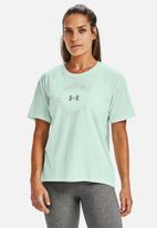 Under Armour - Live fashion graphic tee - blue