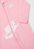 Nike - Nkn hooded baby ft coverall - pink