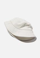 Rubi - Bianca bucket hat - white terry