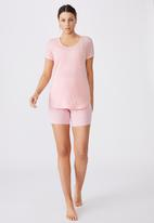 Cotton On - Gym T-shirt - pink