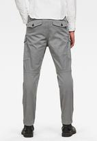 G-Star RAW - Roxic straight tapered cargo pant - grey