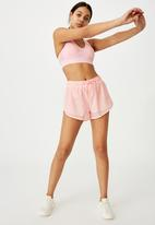 Cotton On - Move jogger active short - pink