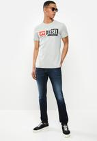 Diesel  - T-diego-cuty T-shirt - grey