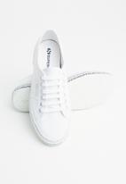 SUPERGA - 2750 mini lettering - white black