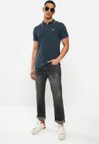 Diesel  - T-randy-new polo shirt - navy