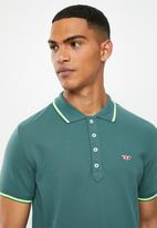 Diesel  - T-randy-new polo shirt - teal
