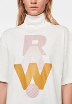 G-Star RAW - Raw dot gr carrn r t short sleeve - white