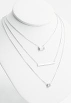 Superbalist - Sterling silver layered necklace - silver