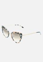 Etnia Barcelona - Amelia sunglasses - black & coral