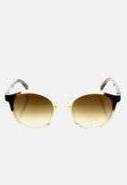 Etnia Barcelona - Avinyo sunglasses - brown & clear
