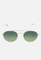 Etnia Barcelona - Born sunglasses - silver & green
