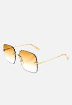 Chloe - Chloe sunglasses  - gold  gradient peach