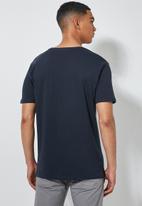 Superbalist - York premium crew neck tee - navy