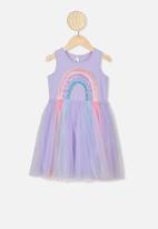 Cotton On - Iris tulle dress - purple