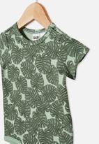 Cotton On - The short sleeve bubbysuit - green