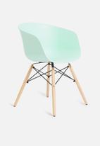 Sixth Floor - Bea dining chair - mint
