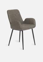 Sixth Floor - Balti dining chair - weathered grey