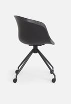 Sixth Floor - Bea office chair - black