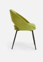 Sixth Floor - Mika chair - forest green