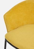 Sixth Floor - Duke lounge chair - mustard