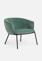 Sixth Floor - Duke lounge chair - forest